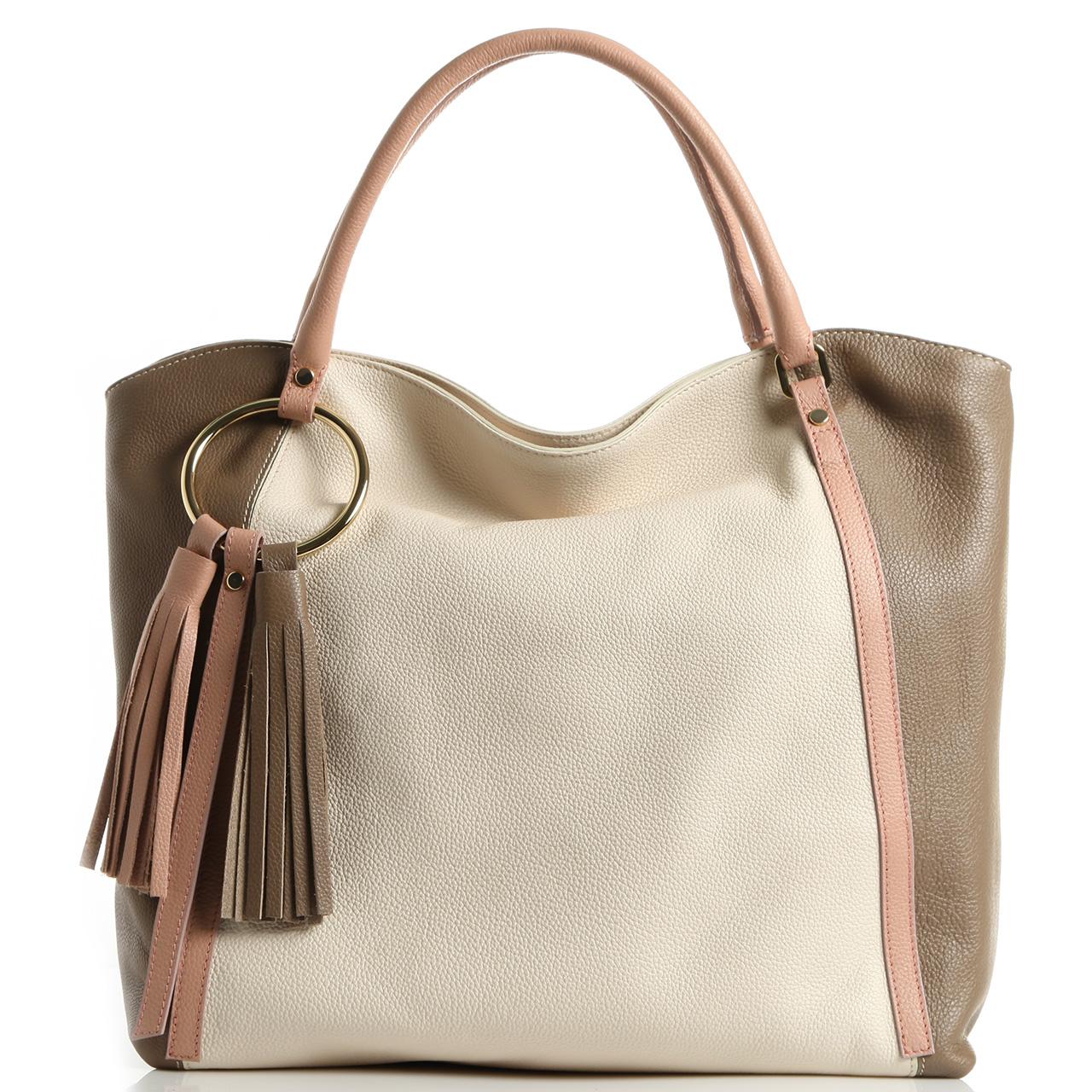 c9f1e63c61e8 Кожаная сумка Di Gregorio купить от интернет-магазина Домани