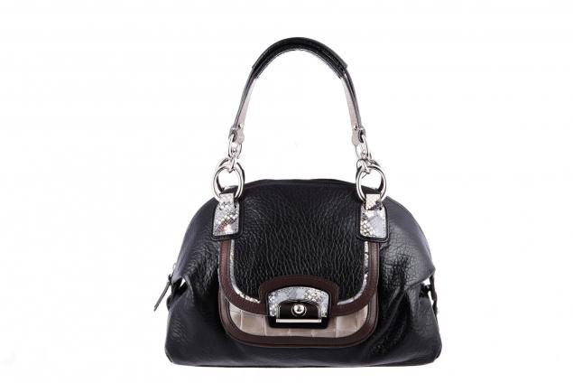 79cb9eb64898 Кожаная сумка Gillian купить от интернет-магазина Домани