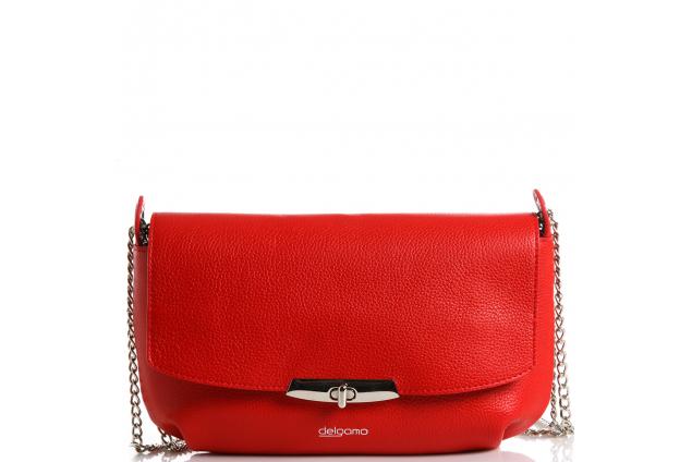 fcae1dbcba22 Кожаная сумка Delgamo купить от интернет-магазина Домани